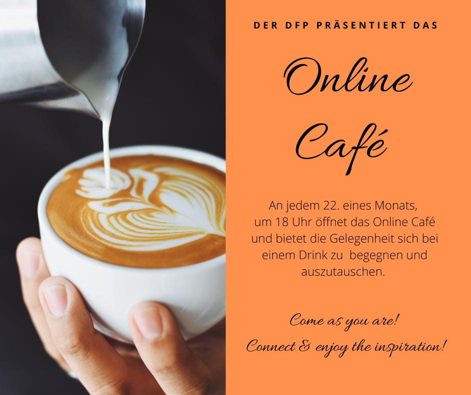 Internationales Online Café – 22.10.2021 (6pm) – Connect & enjoy the inspiration!