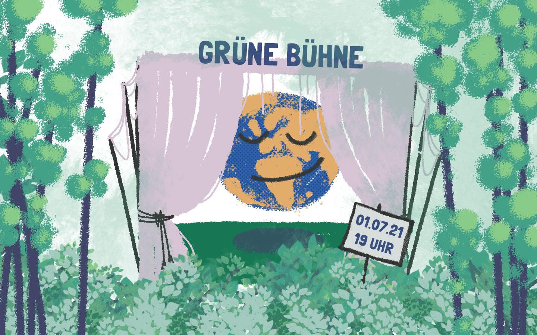 1. Juli – Grüne Bühne – Online Soziodrama